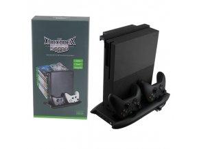 Xbox One X Vertikální nabíjecí stojan s aktivním chlazením