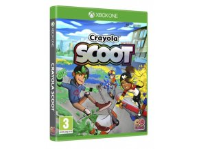Xbox One Crayola Scoot