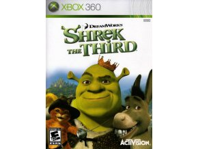 Xbox 360 Shrek The Third