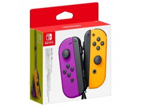 Nintendo Switch Joy-Con Pair Neon Purple/ Neon Orange