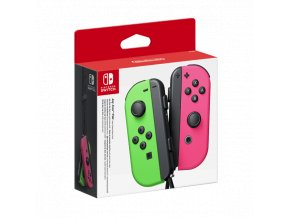 Nintendo Switch Joy-Con Neon Green/Neon Pink