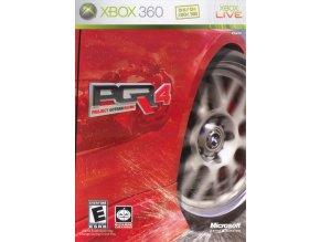 Xbox 360 Project Gotham Racing 4 CZ