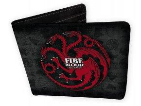Peněženka Game of Thrones - Targaryen
