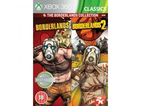 Xbox 360 Borderlands 1 & 2