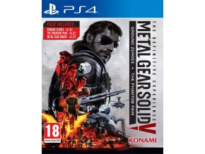 PS4 Metal Gear Solid V: Definitive Experience