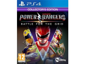 PS4 Power Rangers: Battle for the Grid Collector's Edition