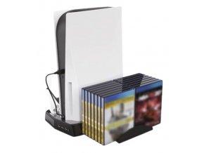 Nabíjecí USB stojan s chlazením PS5