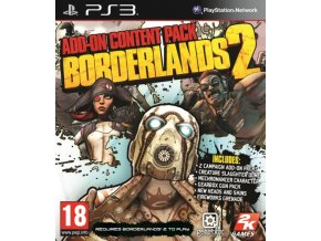 PS3 Borderlands 2 Add-on Content Pack