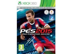 Xbox 360 Pro Evolution Soccer 2015