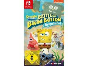 Nintendo Switch Spongebob Squarepants Battle for Bikini Bottom Rehydrated