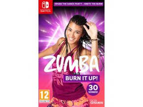 Nintendo Switch Zumba Burn It Up