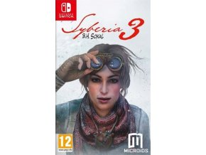 Nintendo Switch Syberia 3 CZ