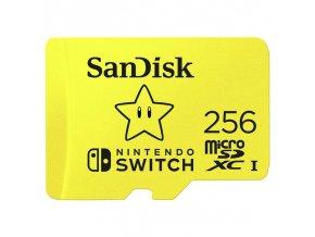 Nintendo Switch Paměťová karta SanDisk Micro SDXC 256 GB