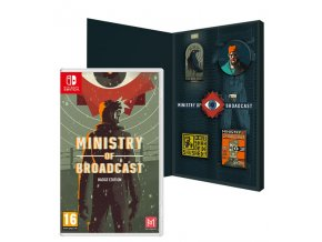Nintendo Switch Ministry Of Broadcast Badge Edition