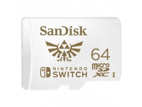 Nintendo Switch Paměťová karta SanDisk Micro SDXC 64 GB