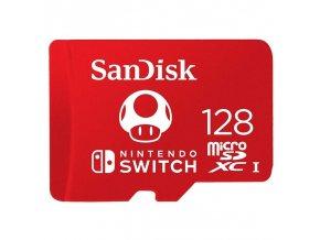 Nintendo Switch Paměťová karta SanDisk Micro SDXC 128 GB