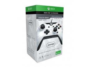Xbox One drátový ovladač PDP Ghost White