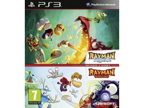 PS3 Rayman Legends + Rayman Origins