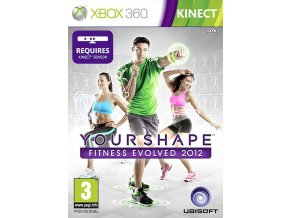 Xbox 360 Your Shape Fitness Evolved 2012 (Kinect)