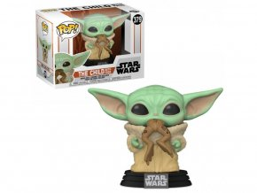 Funko POP! 379 Star Wars The Mandalorian - The Child with Frog