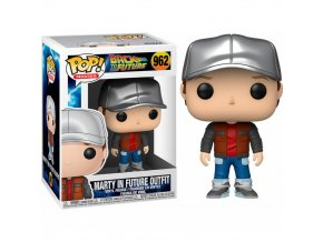 Funko POP! 962 Movies: Back to the Future - Marty in Future Outfit