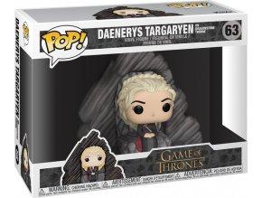 Funko POP! 63 Game of Thrones - Daenerys Targaryen on Dragonstone Throne