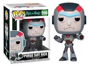 POP! 566 Animation: Rick and Morty - Purge Suit Rick