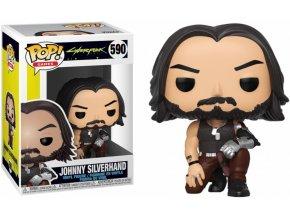 POP! 590 Games: Cyberpunk 2077 Johnny Silverhand crouch