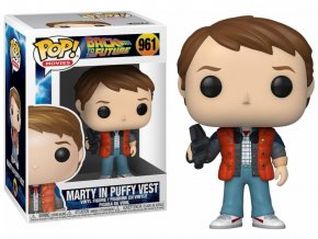 POP! 961 Movies: Back to the Future - Marty in Puffy Vest