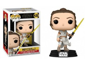 Funko POP! 432 Star Wars: The Rise of Skywalker - Rey with Yellow Lightsaber