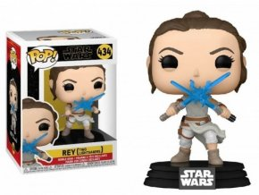 Funko POP! 434 Star Wars: The Rise of Skywalker - Rey with 2 Lightsabers