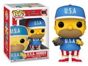 Funko POP 905! TV: The Simpsons - U.S.A. Homer