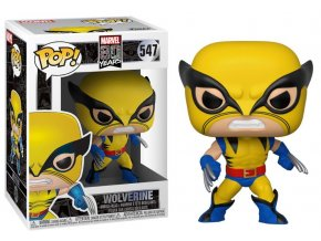 POP! 547 Marvel 80th Anniversary: X-Men - Wolverine First Appearance