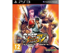 PS3 Super Street Fighter 4