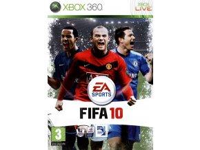 Xbox 360 FIFA 10 CZ