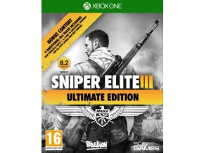Xbox One Sniper Elite 3 (Ultimate Edition) Nová