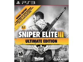 PS3 Sniper Elite 3 Ultimate Edition