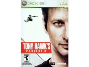 Xbox 360 Tony Hawks Project 8