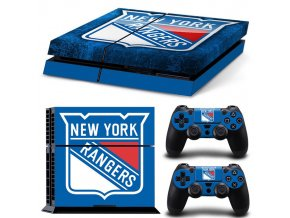 PS4 Polep Skin New York Rangers