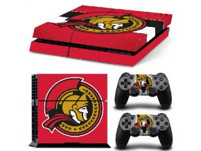 PS4 Polep Skin Ottawa Senators