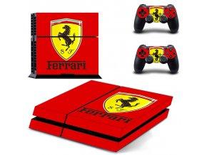 PS4 Polep Skin Ferrari