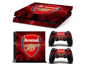 PS4 Polep Skin Arsenal FC