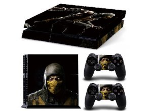 PS4 Polep Skin Mortal Kombat