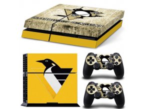 PS4 Polep Skin Pittsburgh Penguins