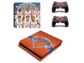 PS4 Slim Polep Skin New York Knicks