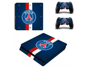 PS4 Slim Polep Skin Paris Saint-Germain FC