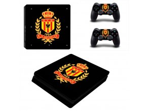 PS4 Slim Polep Skin KV Mechelen