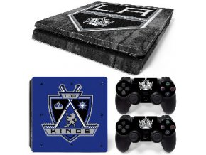 PS4 Slim Polep Skin Los Angeles Kings