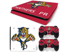 PS4 Slim Polep Skin Florida Panthers
