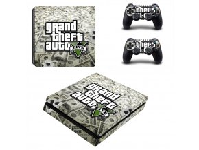 PS4 Slim Polep Skin GTA 5